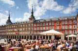 Plaza Mayor in Spain