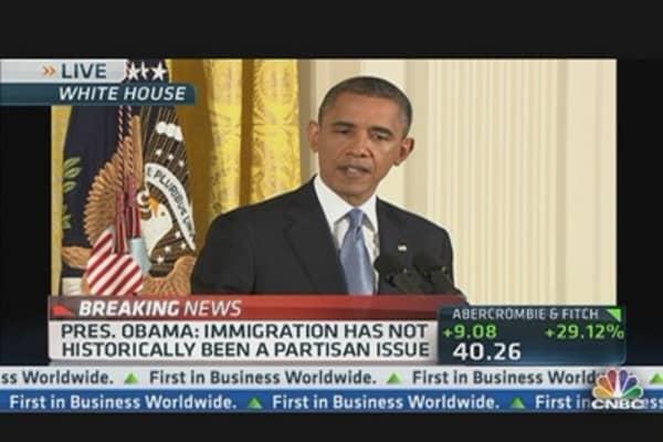 Obama: Immigration Legislation Top Priority