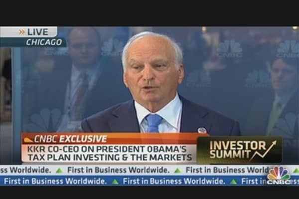 KKR co-CEO on President's Tax Plan