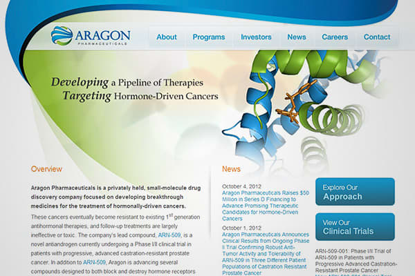 Photo: Aragon Pharmaceuticals