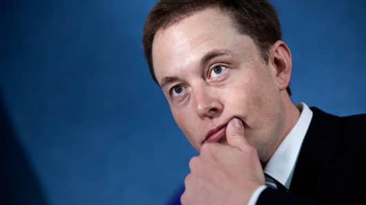 Elon Musk, CEO Tesla Motors