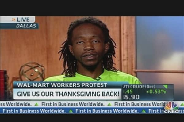 Wal-Mart Workers Protest