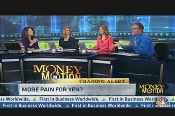 More Pain for the Yen?