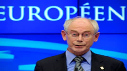 Van Rompuy Presses On With Budget Talks