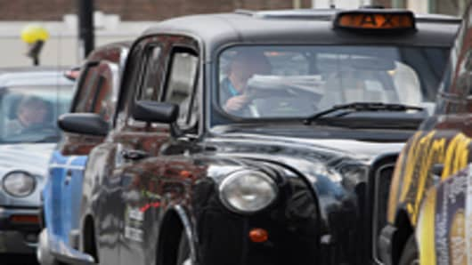 Black Christmas as London Runs Out of Cabs