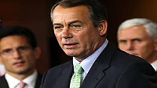 Boehner Tells House GOP to Fall in Line