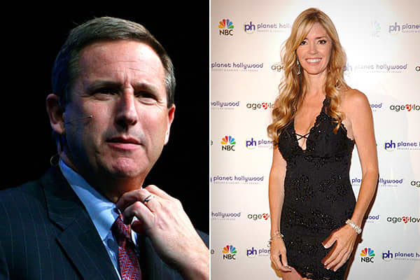 Mark Hurd: Justin Sullivan | Getty Images; Jodie Fisher: Denise Truscello | WireImage | Getty Images