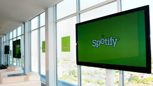 Spotify in Top League With $3 Billion Valuation