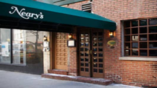 Why Goldman's New Partner Waitresses at Irish Pub