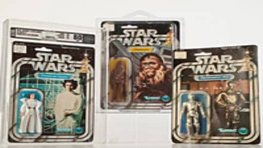'Star Wars' Figures, Dominoes Enter Toy Hall of Fame