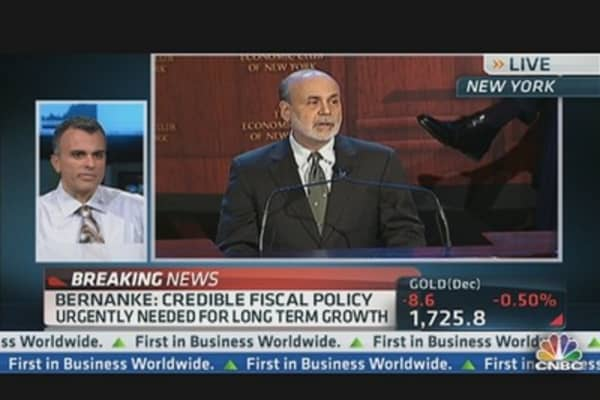 Bernanke Signaling 'It's a Bond-Friendly World': Pro