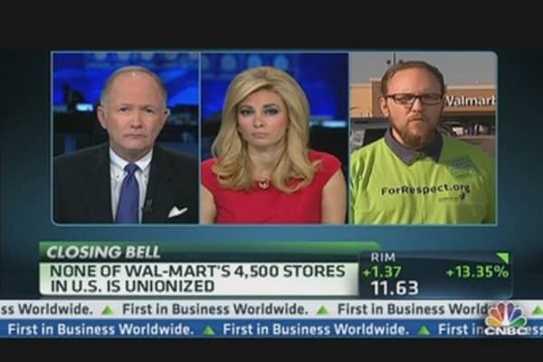 Wal-Mart Employee: We're Going to Push Wal-Mart to Be Better