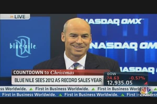 Blue Nile CEO on Record Sales Year