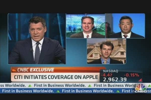 Apple So Big, Citigroup Triple-Teaming It