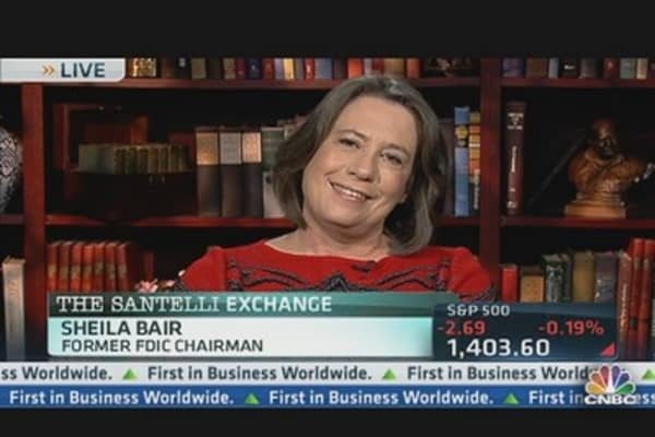 Sheila Bair on Rates, Fiscal Cliff
