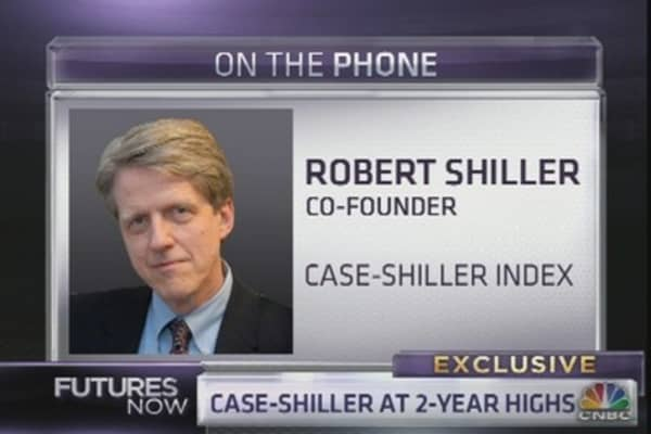Shiller: Why I'm Doubting the Housing Recovery