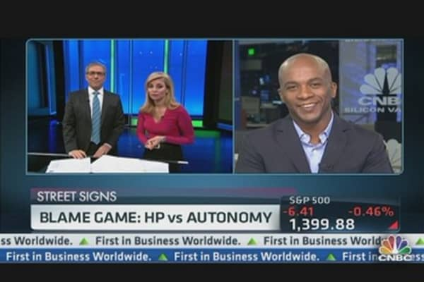 Blame Game: HP vs. Autonomy