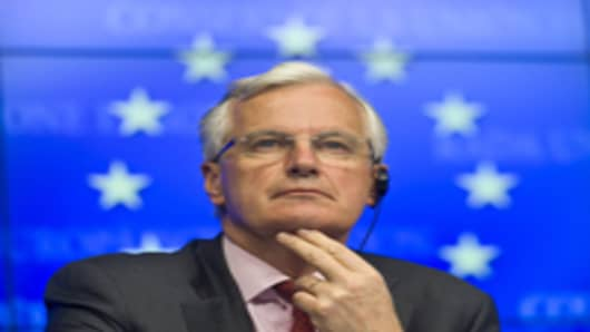 Michel Barnier, European commissioner in charge of regulatory reform