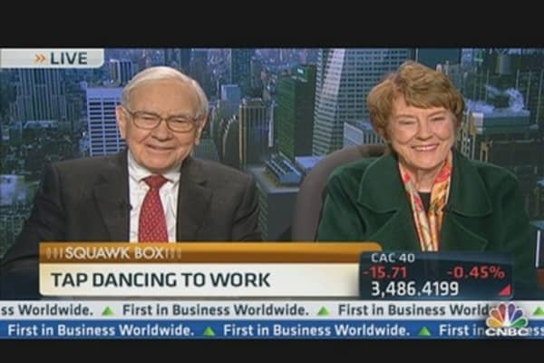 Why Warren Buffett is 'Tap Dancing to Work,' PT 1