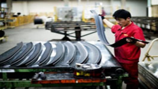 China October Industrial Profits Jump 20.5%