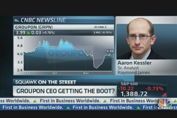 Is Groupon's CEO Getting the Boot?