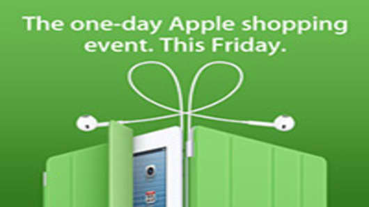 Apple Teases Its Black Friday Sale for 2012