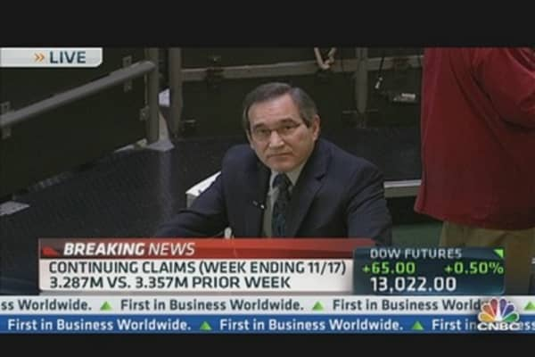 Jobless Claims Drop & Q3 GDP Gains