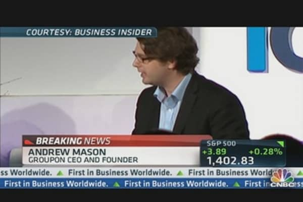 Groupon CEO Andrew Mason Speaks Out