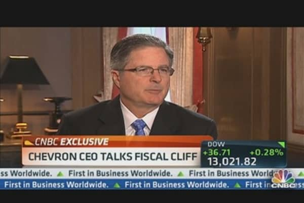 Chevron CEO: Great Anxiety in Business Community