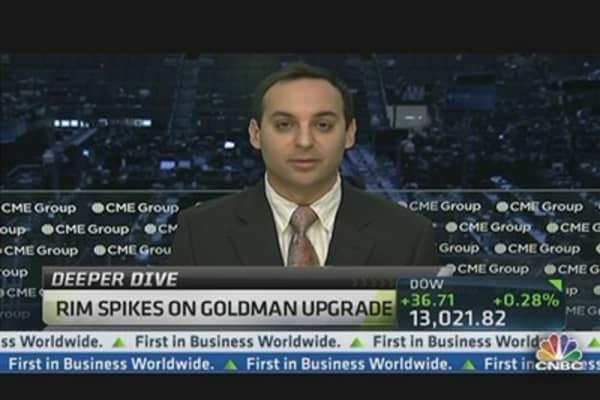 RIM Gain 'Good Sign' for Broader Market: Pro