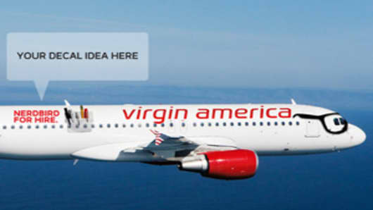 Virgin America Sells $49,000 'Nerdbird' Flight on Cyber Monday