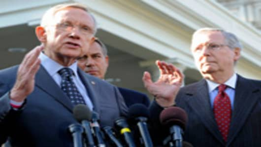 Sen. Reid Reports Little Progress in 'Cliff' Talks