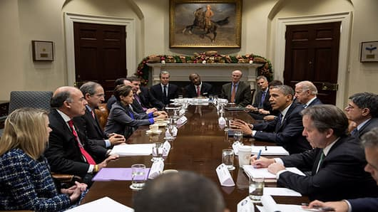 Obama: Let's Get 'Fiscal Cliff' Deal Before Christmas