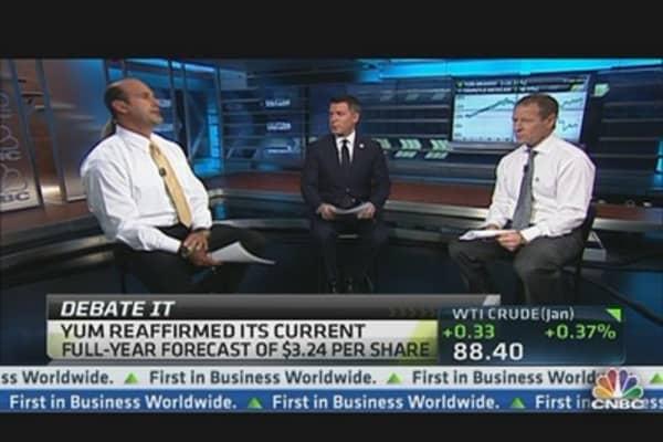 Yum! Three Trades After a 9 Percent Drop