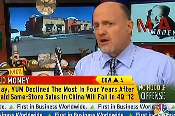 No Huddle Offense: Yum's Falling Sales
