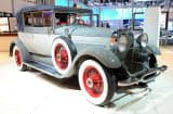 1929 Lincoln L Dietrich Convertible Coupe appears as part of Lincoln&#039;s Heritage On Display At Los Angeles Auto Show Press Day at Los Angeles Convention Center on November 28, 2012 in Los Angeles, California.