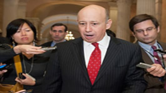 Everything Must Be Touched in Fiscal Debate: Blankfein