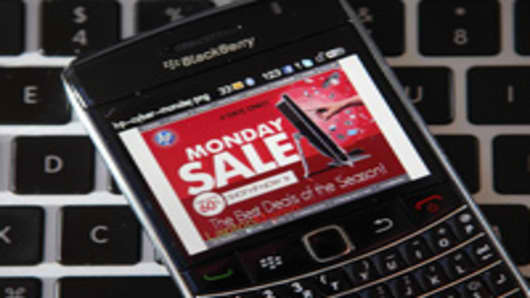 Mobile Sales Boost E-Commerce Startups on Cyber Monday