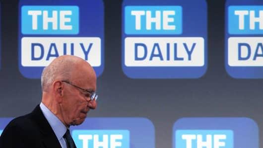 News Corp. CEO Rupert Murdoch.