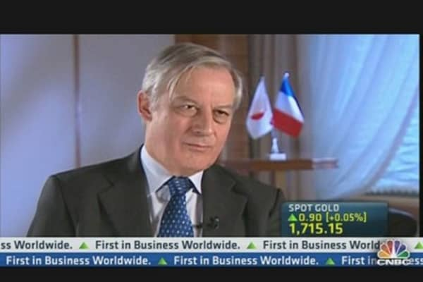 Greece Is on Road to Recovery: France's Noyer