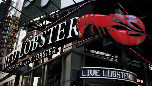 Red Lobster restaurant in New York City.