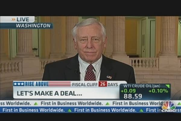 Fiscal Cliff Math Problem, Not Philosophical Problem: Rep. Hoyer