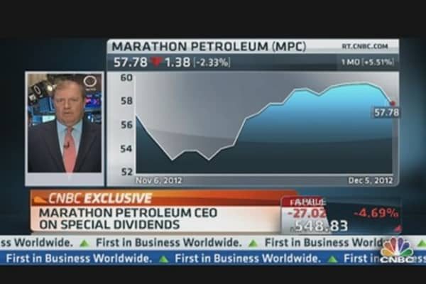 Marathon Petroleum CEO: Texas City Acquisition & Dividends