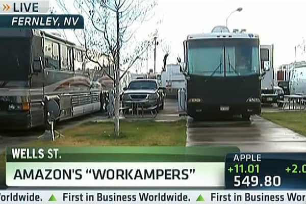 Amazon's 'Workampers' For the Holidays
