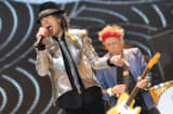 The Rolling Stones perform during their 50th anniversary tour at 02 Arena in London, England.