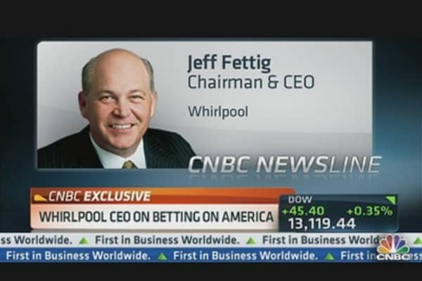 Whirlpool CEO on the Jobs Report