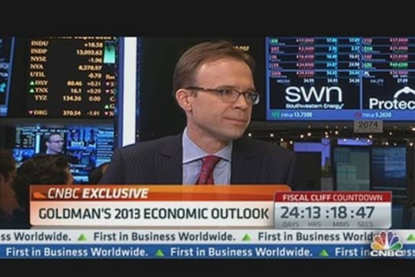 Hatzius: Goldman's 2013 Outlook