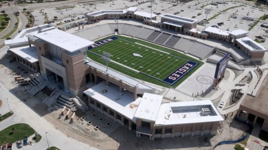 Eagle Stadium in Allen, Texas.
