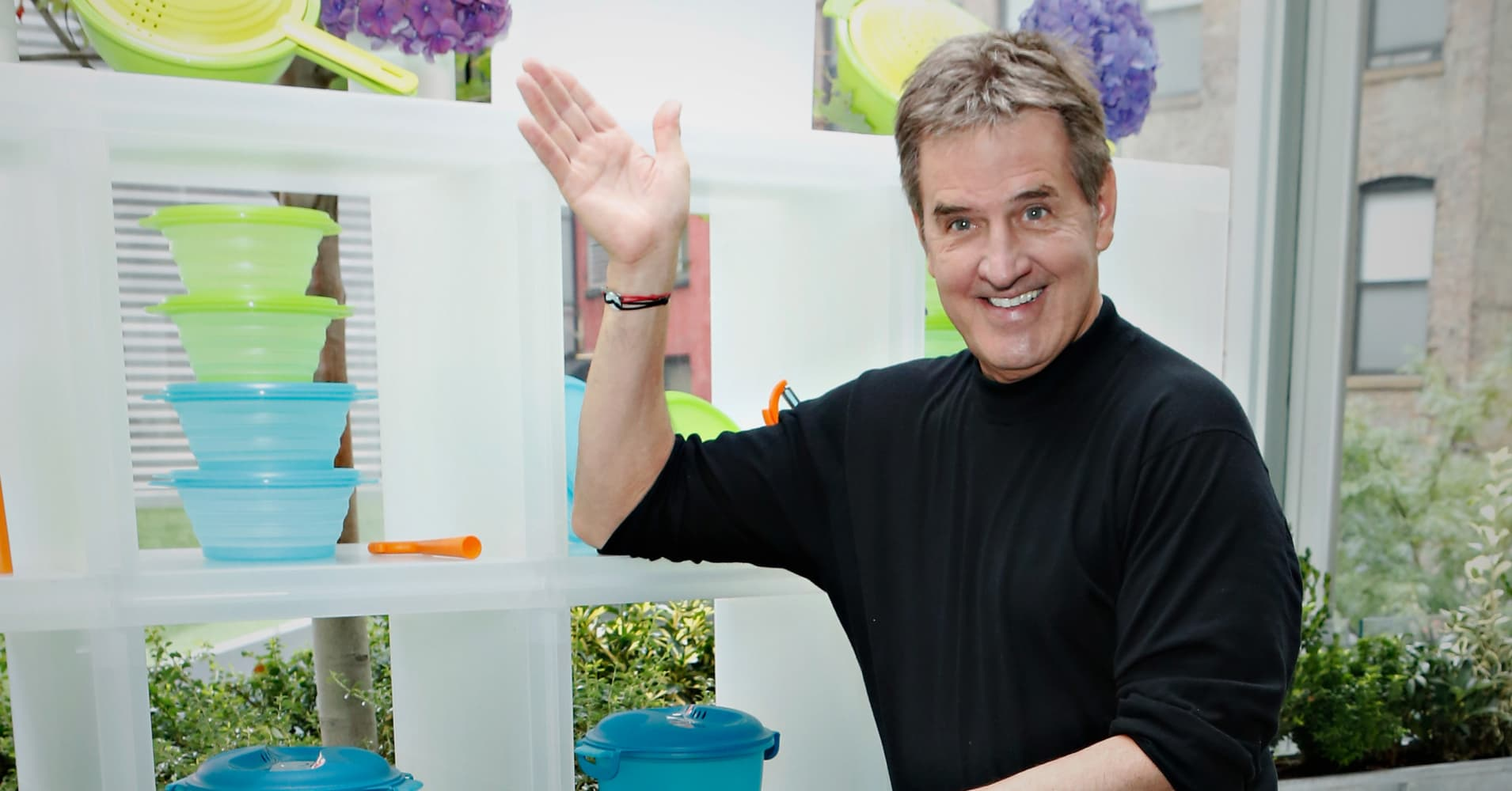 Rick Goings, CEO of Tupperware