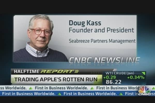 Kass: Apple To Me Is a Trading Sardine